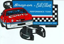 NEW Vintage Snap-on Bill Elliot Coors ToolBox Sticker Emblem Racing DecalSSX1332