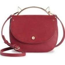 NWT LC Lauren Conrad Holly Cat Ears Crossbody Bag - Red