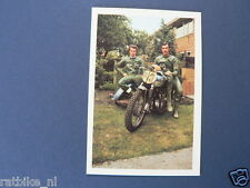 VDH3-190 F DE KONING A VERBRUGGE SPEEDWAY SIDECAR PICTURE STAMP ALBUM CARD,