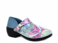 Rocky 4EurSole Womens Nurse Clogs three styles in 1 pair of shoes Blue/Pink