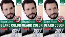 3 PACKS of Bigen Mens Beard Colour B102 Brown Black