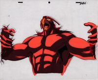 Jojo's Bizarre Adventure Anime Cel Douga Avdol Magician's Red Animation Art 1993