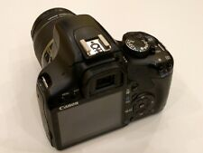 Canon EOS 450D 12.2MP Digital SLR Camera - Black (Kit with EF-S 18-55mm lens)