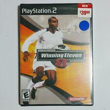 World Soccer Winning Eleven 8 International (PlayStation 2). NEW!! Y Folds