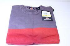 Dickies Men's Dakota Three-Tier Color-Block Sweater, Hunter Green, Medium