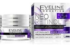 Eveline Cosmetics Neo 55+ Crema Retinol levantamiento de rostro experto anti-Arrugas