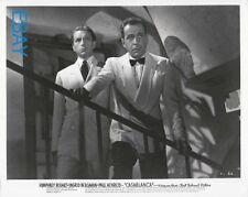 Humphrey Bogart Paul Henried Casablanca Rare Photo