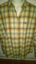 Billabong Camicia Vintage Flannel Plaid Checkered Surf Skate Sz. S Lumberjack