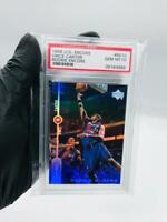 1998-99 Upper Deck Encore Vince Carter Rookie Encore PSA 10 Gem Mint #RE10