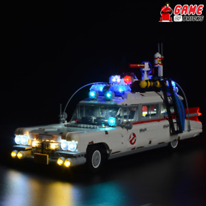 Game of Bricks LED Light Kit ONLY for Ghostbusters ECTO-10274 (Remote Version)