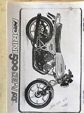 Moto Morini 500 SEI - V AT Parts manual COPY