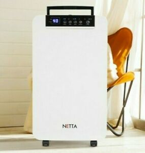 12L Electric Dehumidifier Damp Mould Moisture Extraction Grade B Used