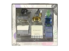 Ladies Miniature Perfume Collection x3 Box Set Burberry Woman Curve Intrusion