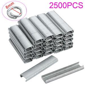 2500PCS Galvanised Steel Clips Hog rings For C7 Auto Feed Fencing Hog Ring Gun