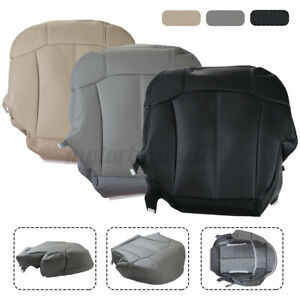 Front Driver Side Bottom Seat Cover PU Leather For Chevy Suburban 1999-2002