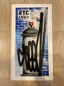 SEEN Graffiti Loser Original Painting #6095 Spray Canvas Banksy Keith Haring NYC