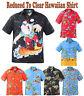 Mens Christmas Shirt Santa Beach Holiday Shirts Xmas Hawaiian Party Fancy Dress
