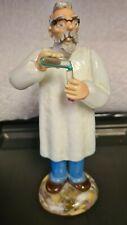 "Vintage Italian Murano Art Glass Doctor Scientist Chemist Figurine Statue 9"" Tal"