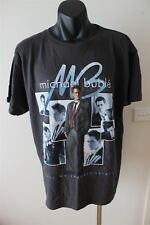 Michael Buble Call Me Irresponsible Tour 2008 Men's T-Shirt Size Extra Large AUS