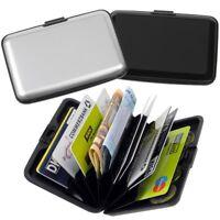 2x FABRIZIO RFID Geldbeutel Aluminium Geldbörse Kreditkartenetui Portemonnaie
