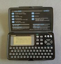 Casio SF-4600RS 64kb Digital Diary Organizer with Manual Tested and Working