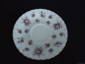 royal albert sweet violets tea saucer 14cm bone china
