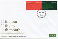 Ireland 2018 FDC WWI WW1 End of World War I Armistice 2v Cover Military Stamps