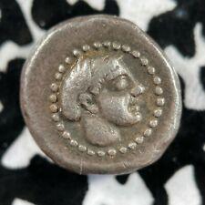 (400 BC) Ancient Campania AR Hemidrachm 18th c. Restrike by Carl Becker Lot#A410
