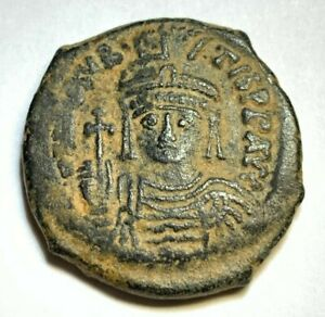 Lot 371; Byzantine Coin AE,a