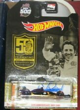 Mario Andretti Indy 500 Champion Racing SIGNED 50TH Anny Hot Wheels Car COA
