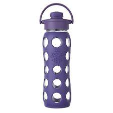 Lifefactory BPA FREE 22oz Glass Water Bottle w Silicone Sleeve & Flip Cap