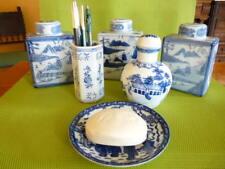 Pots Chinois 4 faces anciens ( lot de 3 ) + divers accessoires
