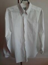 L.L.Bean Mens Shirts Long Sleeve White Color Size-M Regular Fit 100% Cotton