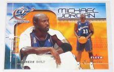2001/02 Michael Jordan Wizards NBA Fleer Exclusive Members Only Card #109 NM