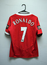RARE Authentic C. RONALDO Jersey - Manchester United FC, Home Kit 05/06 - [S]
