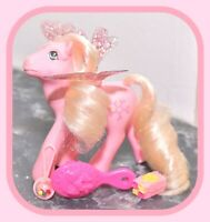 ❤️My Little Pony MLP G1 Vintage Pink FLUTTER PONY Honeysuckle with Wings❤️