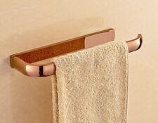 Rose Gold Brass Towel Ring Holder Hanger Bathroom Hardware Accessory aba868
