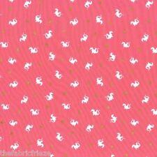 Michael Miller Sarah Jane BABY DRAGON Pink Girls Cotton Fabric Fat Quarter