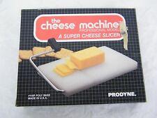 Vintage The Cheese Machine Super Cheese Slicer