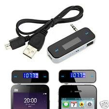 Sans Fil Voiture MP3 Transmetteur FM Radio Mains Libres pour Mobile iPhone iPod Samsung