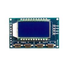 Signal Generator PWM Board PWM Pulse Frequency Duty Cycle Adjustable Module LCD