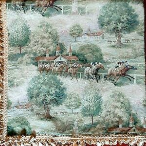 Throw Blanket Equestrian Horses - Polo Ralph Lauren Style - English County