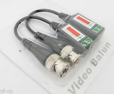50 Pairs Coax Network CAT5 to Camera CCTV BNC Video Balun Transceiver Cable UK