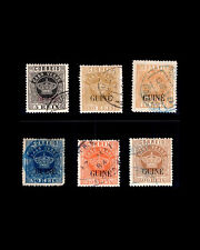 VINTAGE PORTUGUESE GUINEA-PORT 1881 USD SCOTT # 8a,11,18,2  $184.75 LOT #1881x80