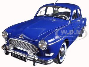 1959 RENAULT FREGATE CAPRI BLUE 1/18 DIECAST MODEL CAR BY NOREV 185280