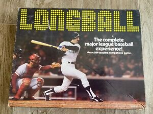 SKOR-MORE PRODUCTS 1977 LONGBALL BASEBALL GAME-UNCUT CARDS OF ALL TEAMS