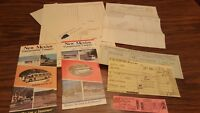 Vintage New Mexico Transportation Company Bus schedules 1974 1984   Lot