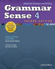 Grammar Sense 4 Student Book with Online Practice Access Code Card Advanced Gra