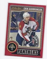 14-15 2014-15 O-PEE-CHEE ERIK GUDBRANSON RED PACK REDEMPTION 254 FLORIDA PANTHER