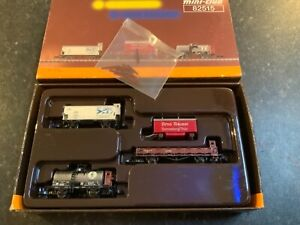 Marklin spur z scale/gauge. SBB Heavy Freight Car Set.